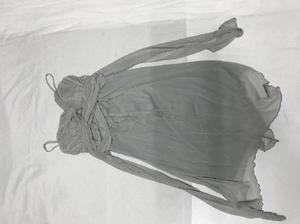 NUEVO vestido de tul gris