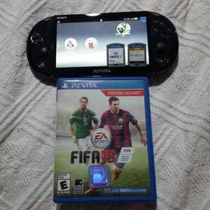 Playstation Vita (8 Gb) Casi Nueva Con 2 Juegos