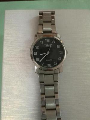 Reloj Pulsera Hombre Time Acero Inoxidable