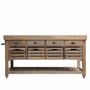 Simple Nordic style wood kitchen cabinet kitchen pantry