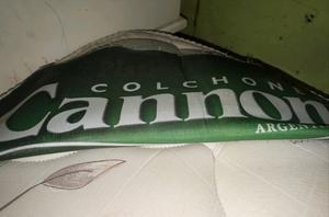 Sommier y colchón Cannon 2 plazas