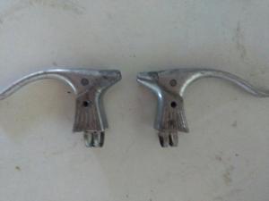 juego de manijas de freno de aluminio marca MODOLO italianas