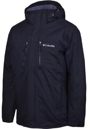 Campera Columbia Bristol Pass Impermeable Rompeviento Hombre