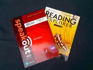 Speak Out 2nd Edition + Reading Explorer - Level 4 - Usado