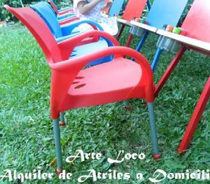 Alquiler de Atriles Infantiles a Domicilio - Berazategui