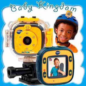 Camara Fotos Graba Audio Y Video Para Niños Vtech Go Pro
