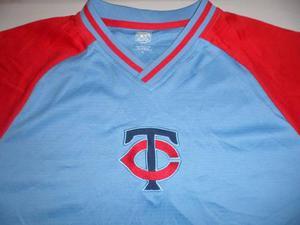 Camiseta Baseball Minnesota Twins Majestic Talle Xl