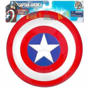Escudo Capitán América Con Luz Y Sonido Toysmarket