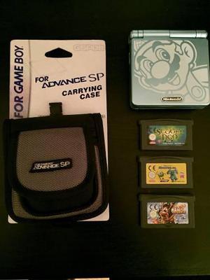 Gameboy Advance Sp Edición Especial + Juegos