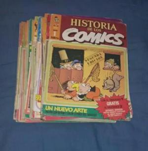 Historia de Los Comics Lote X 32
