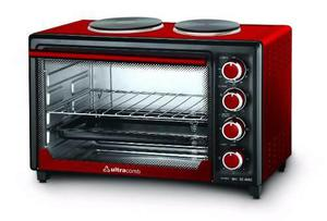 Horno Eléctrico Ultracomb Uc40ac 40lts, 3200w, 2 Anafes