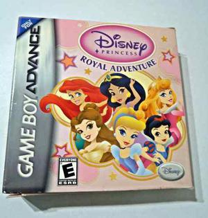 Juego Para Niñas Game Boy Advance Disney Princesas