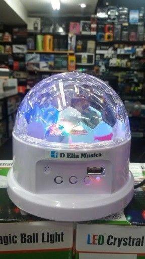 Luz Led Bola Crystal Magic Ball