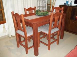 Nuevo !!! Mesa de 1.20 y 4 sillas reforzadas !! Envío