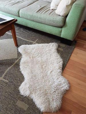 Alfombra de oveja natural posot class - Alfombra oveja ...