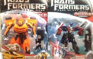 Set Transformers Optimus Prime + Bumblebee 20 Cm!
