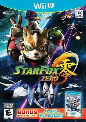 Star Fox Zero + Star Fox Guard - Nintendo Wii U Nuevo Fisico