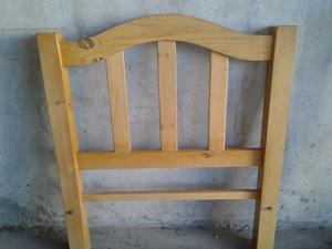 Vendo cama de 1 plaza usada de madera en muy buen estado!!!