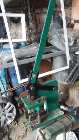 maquinas carpinteria de aluminio un mes de uso.