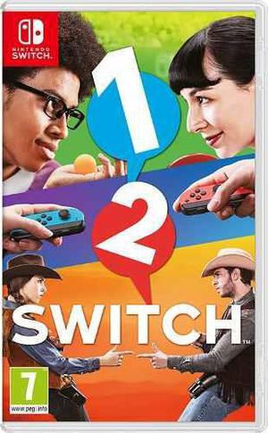 1 2 Switch Juego Nintendo Switch Nuevo Sellado