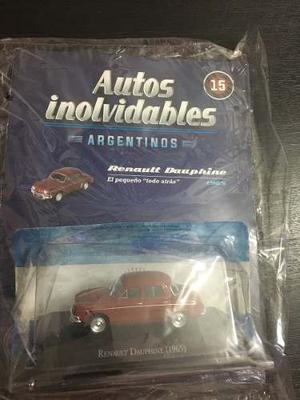 Autos Inolvidables Argentinos Coleccion Salvat Escala Replic