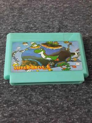 Cartucho De Juego Super Mario Bros 6 Para Family Game