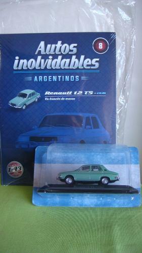 Coleccion De Autos Inolvidables Salvat N° 8 Renault 12