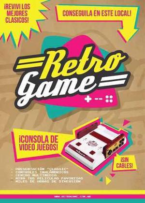 Consola De Video Juegos Retro Game Juegos -netflix-youtube