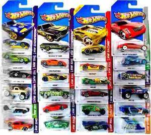 Hot Wheels Pack X10 Colección Autos Surtidos Original