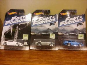 Hot Wheels Rapido Y Furioso  Col.completa Del 1/8 Al 8/8