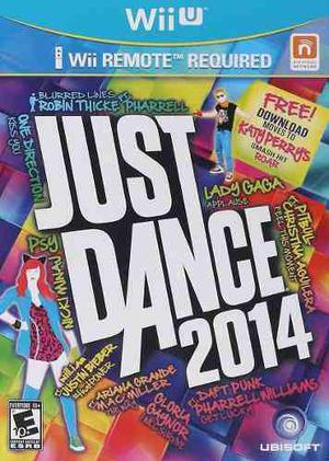 Just Dance 2014 Nuevo Nintendo Wii U Dakmor Canje/venta
