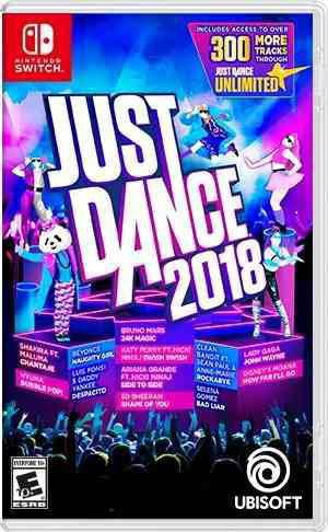 Just Dance 2018 Nintendo Switch Fisico Nuevo Anywhere