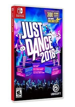 Just Dance 2018 Nintendo Switch Fisico Nuevo Sellado