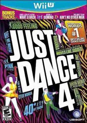 Just Dance 4 Nuevo Nintendo Wii U Dakmor Canje/venta