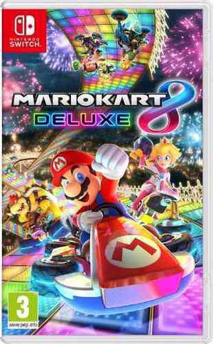 Mario Kart Deluxe 8 Nintendo Switch Fisico Y Sellado