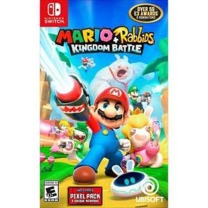 Mario Rabbids Juego Físico Nintendo Switch Original Sellado