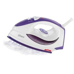 Plancha de vapor Oster® con base de cerámica violeta y