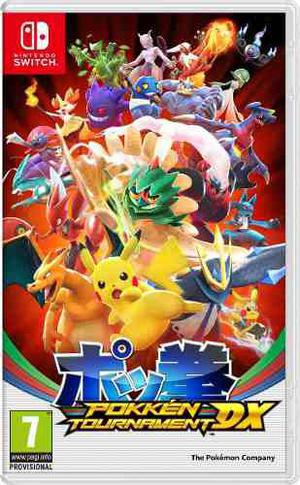 Pokken Tournament Dx Nintendo Switch Fisico Pokémon