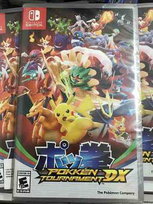 Pokken Tournament Switch Nintendo Fisico!! Stock