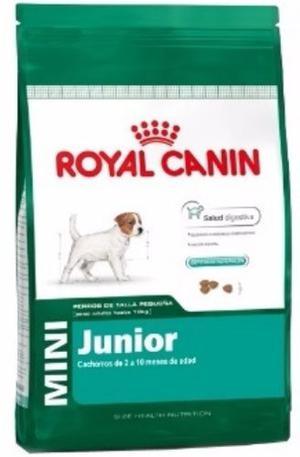 Royal Canin Mini Junior 15 Kg Perros Cachorros Envíos