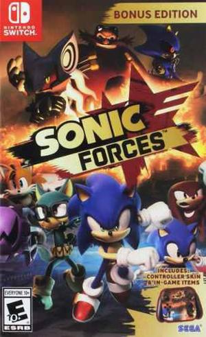 Sonic Forces Bonus Edit Nintendo Switch Fisico Nuevo Sellado
