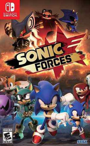 Sonic Forces Standard Edition Nintendo Switch Juego Fisico