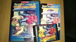 Street Fighter 2 Especial C.e. Completo Sega Genesis