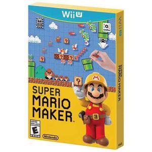 Super Mario Maker Wii U - Juego Físico Caja