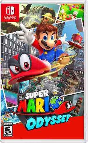Super Mario Odyssey Nintendo Switch Fisico Nuevo Sellado