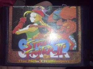 Super Street Fighter 2 Para Sega Genesis