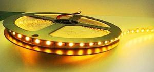 Tira De Led  Amarillo Yellow Rollo X 5 Metros - Interior