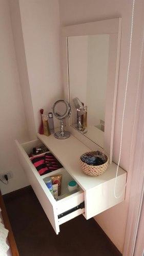 Tocador Makeup, Precio De Espejo Sin Luz,con Luz Consultar