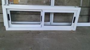 Ventana De Aluminio Blanco 1,20 X 0,50