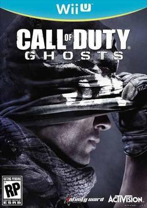 Wii U Games/ Call Of Duty Ghosts/ Nuevos Y Cerrados!!